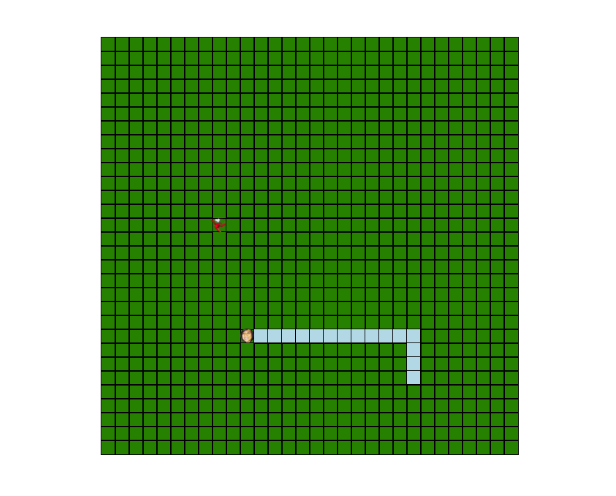 Snake Game in ReactJS